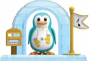 DigiPenguins - Peyton z igloo