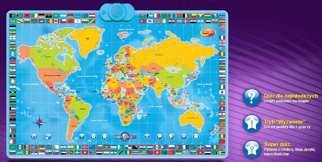 zabawy w dwóch językach - mówi po polsku i po angielsku